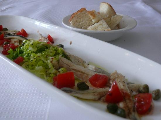 Radiona: Marinated anchovies