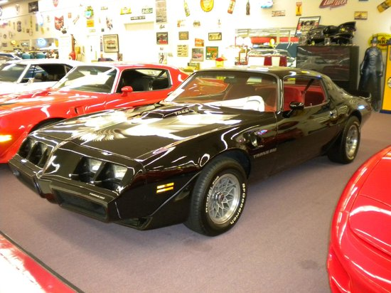 Muscle Car City Museum: I used to have a 79 Smokey & the Bandit!