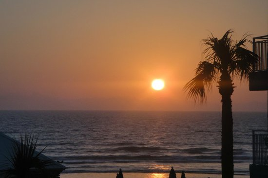 Coconut Palms Beach Resort II: Sunrise from our deck