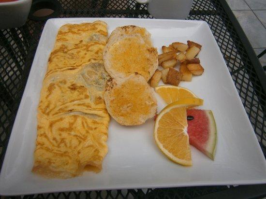 Breakfast picture of maya vista hotel tela tripadvisor for Hotel maya tela