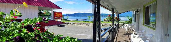 Harrison Spa Motel: Amazing View