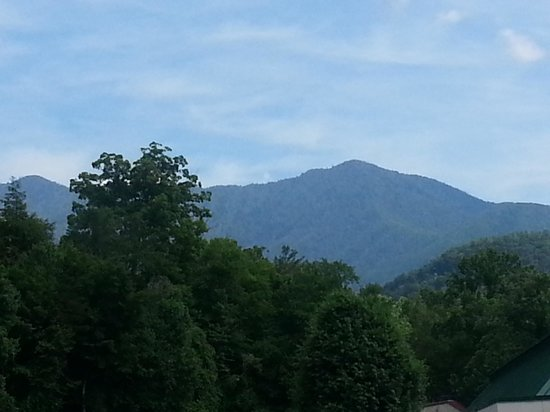 Hampton Inn Gatlinburg: view fro