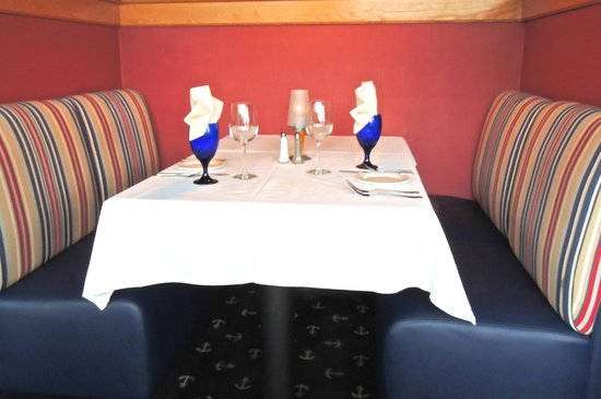 The Anchorage: Table setting