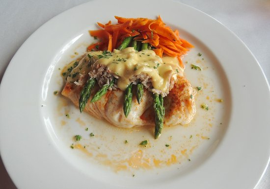 The Anchorage: Halibut special looked good but was not