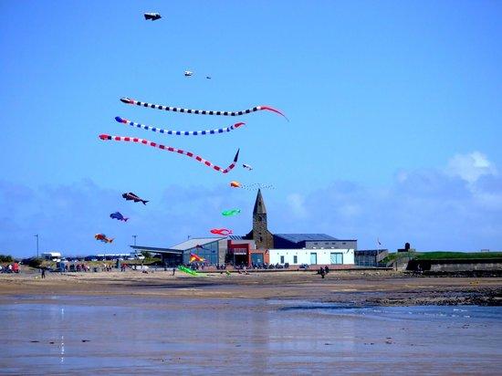 Newbiggin Maritime Centre: Kite Festival at Newbiggin Maritiem Centre