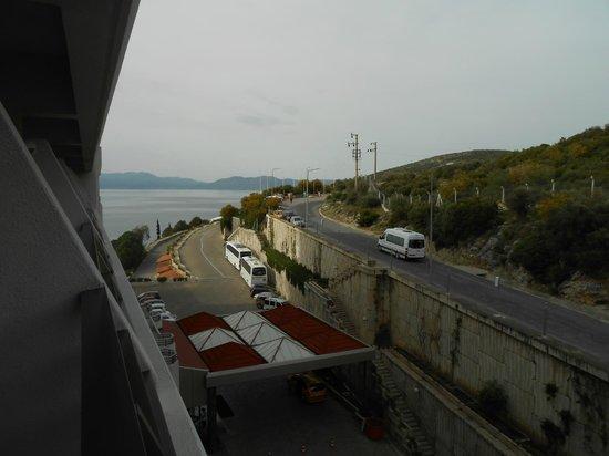 Korumar Hotel De Luxe: Mountain (?) view