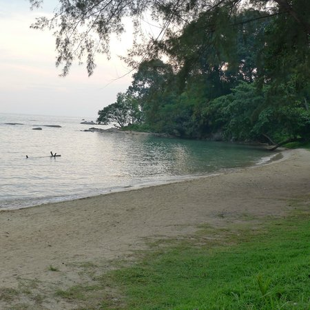 Tanjung Bidara Beach Resort: ok beach