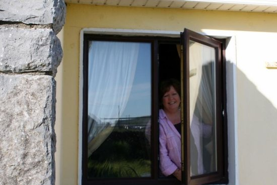 Daly's House: Susan at the window