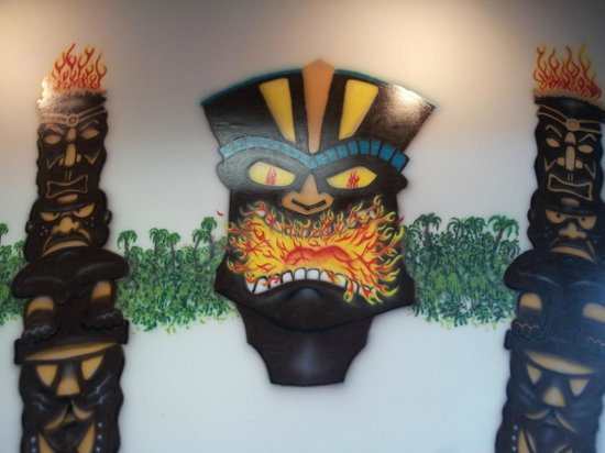 Island Pizza: wall art