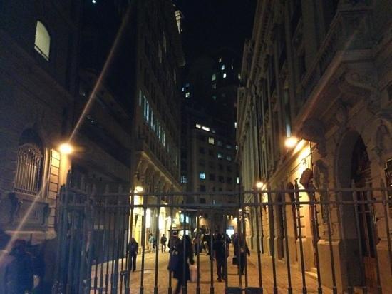 A un lado del Stock Exchange