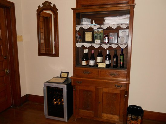 Cartier Mansion Bed & Breakfast : Wine and other items to buy anytime
