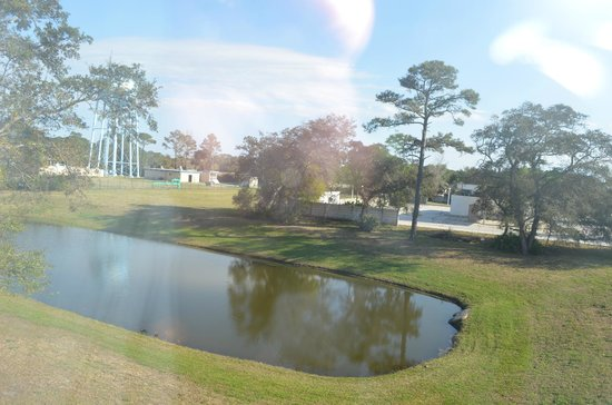 Mayport Inn & Suites: View from window