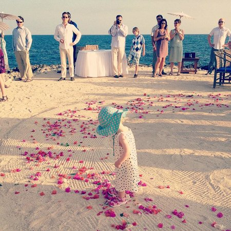 Coral Cove Resort: Just before the ceremony started