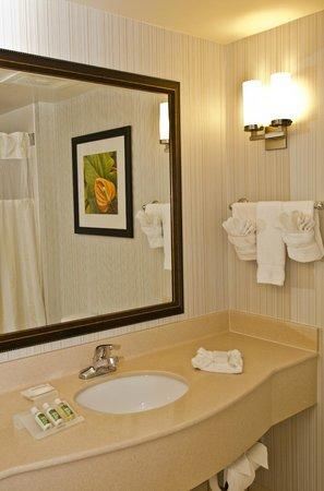 Hilton Garden Inn Louisville East : Guest Bathroom