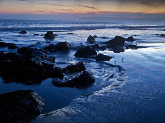 Dan McGeorge Gallery: Coronado Beach at Sunset