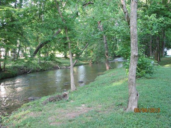 Up the Creek RV Camp : creek