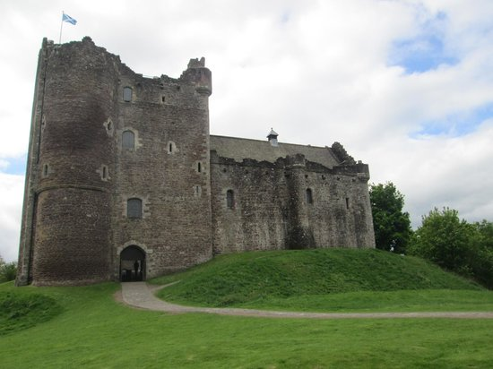 Tayport, UK: Castle where Monty Python was filmed.