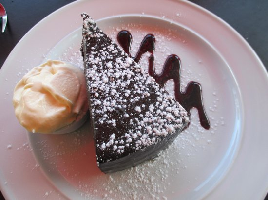 Sierra Cafe - Devonport: Chocolate Whiskey Cake