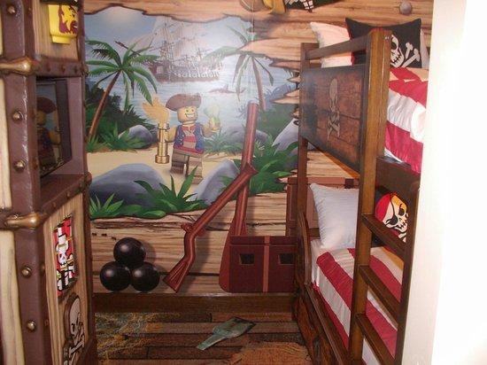 LEGOLAND California Hotel: Habitación de niño