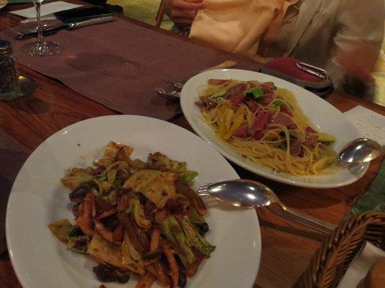 Artist Cafe: dinner