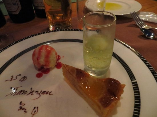 Artist Cafe: dessert