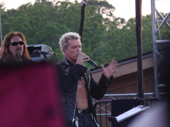 Billy Idol Concert June 2013 ArtPark Lewiston NY