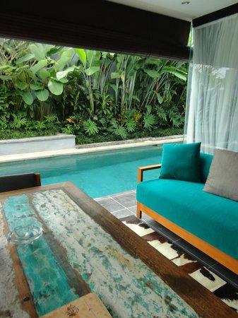 Villa Amatoa : Lounge area