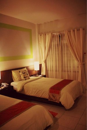 Hotel de Bangkok: Pretty room is pretty!