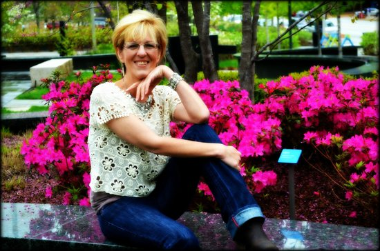 me at the city garden