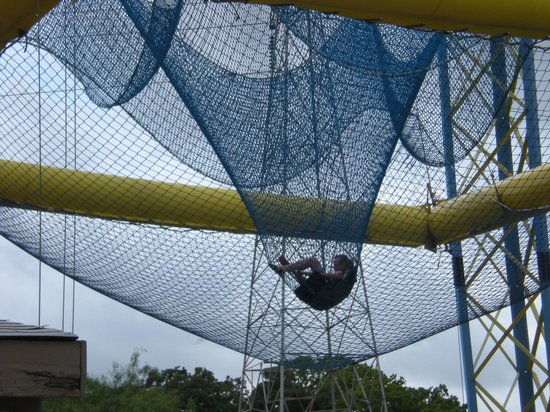 Zero Gravity Thrill Amusement Park: 'nothing but net'
