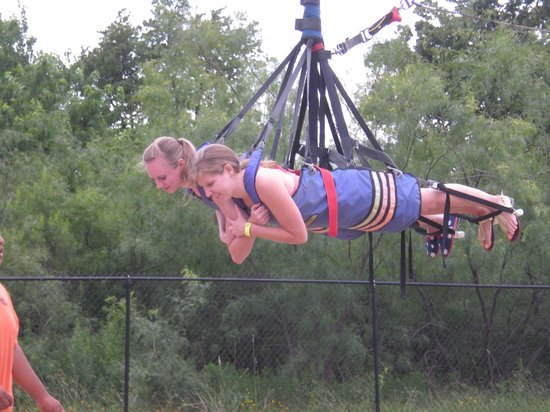 Zero Gravity Thrill Amusement Park: saying their prayers, before it is 'up, up and away'