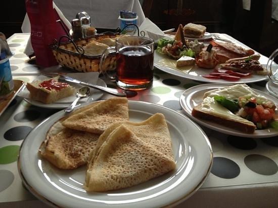 Zava Boutique Hotel: breakfast included