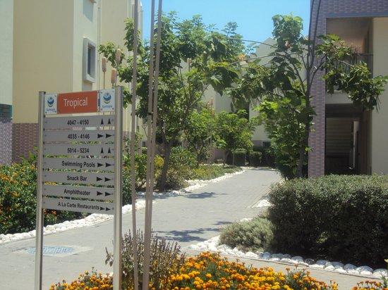TUI Family Life Tropical Resort: Отель и местность