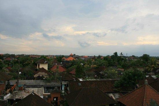 Aya's Rooms Hotel: View from top floor