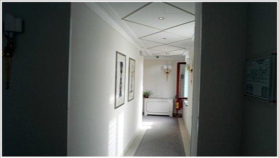 Golden Tower Hotel & Spa: 廊下