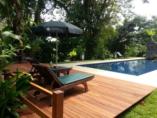 Basaga Holiday Residences: New timber deck