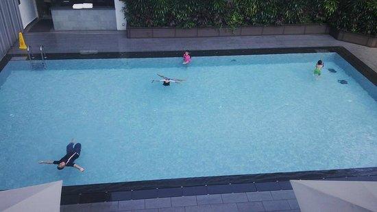 Swimming Pool At Level 5 Picture Of Mandarin Orchard Singapore Singapore Tripadvisor