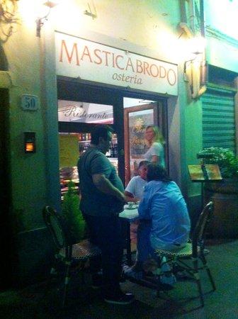 Masticabrodo : Outside view