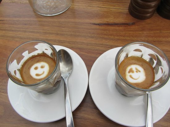 The Butcher's Block: Macchiatos with a smile