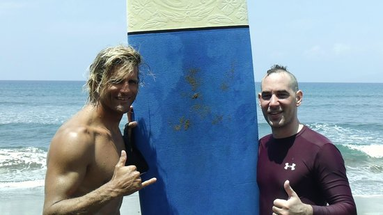 Zack Howard Surf: Private instruction from Bret