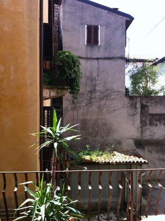 Ai Leoni: View from the balcony