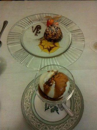 Villa Euchelia Resort: Dessert!