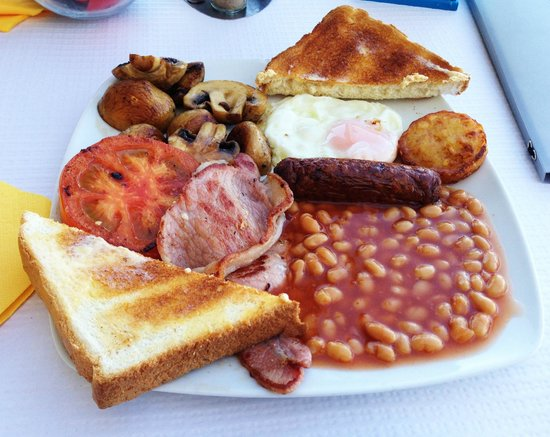 The Oasis: English breakfast