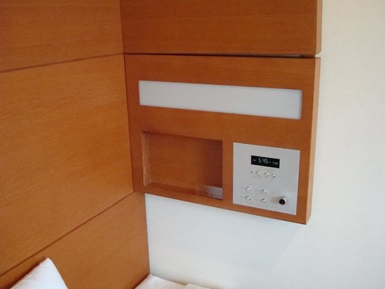 Hotel JAL City Haneda Tokyo: ここ、寝る時 頭ぶつけた。