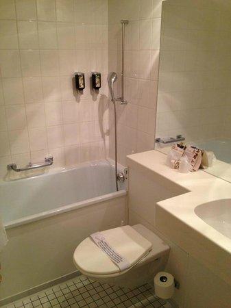Hotel Regina: Bath