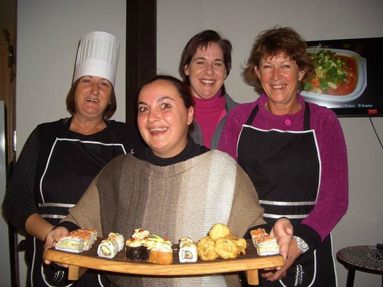 The Little Pink Chef: Sushi class