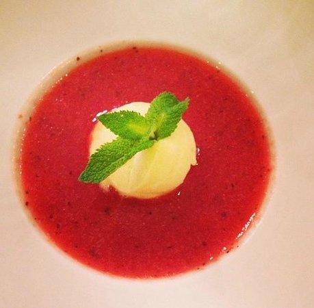 Bistro 2 Génies : Soupe de fraises