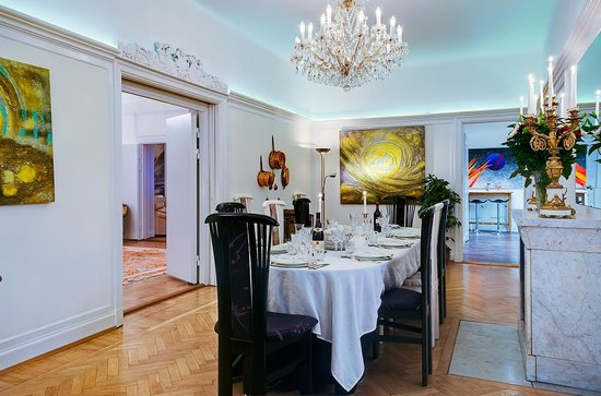 Luxury Apartments Stockholm: Diningroom