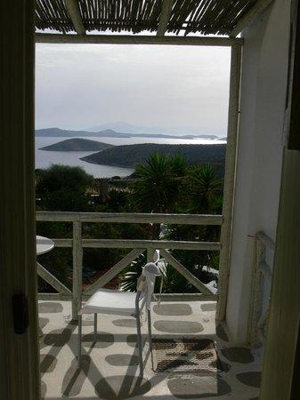 Villa Zografos: Blick aus der Zimmertür