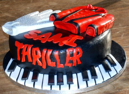 Miraculous Michael Jackson Thriller Birthday Cake Oushe Gourmet Bakeshop Personalised Birthday Cards Cominlily Jamesorg